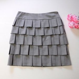 Etcetera Tiered Shingle Skirt Size 10